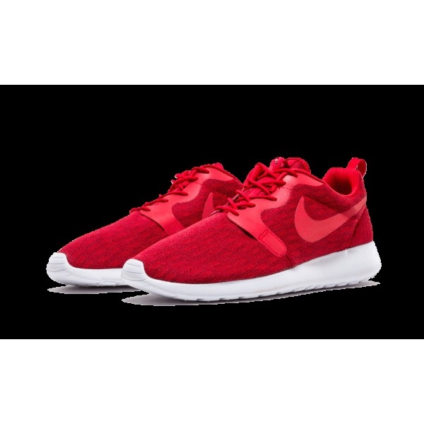 Homme Nike Roshe One Jacquard Casual Chaussures 777429-601 Gym Rouge/Team Rouge/Noir