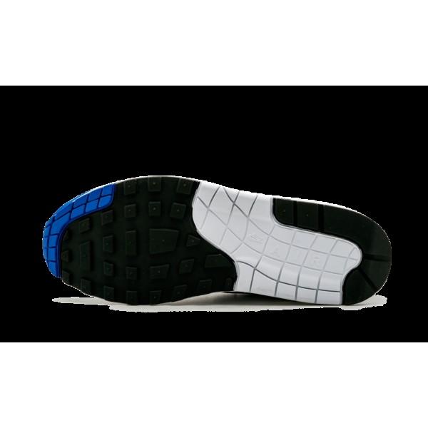 Nike Air Max 1 Og Anniversary Blanche Game Royal 908375-101