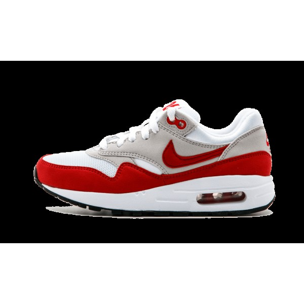 Nike Air Max 1 QS 827657-101 OG Blanche Rouge