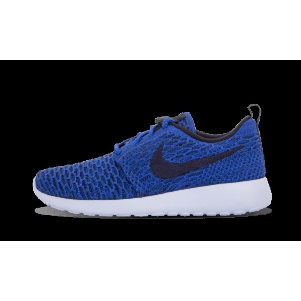 Nike Roshe One Flyknit 704927-400 Game Royal Bleu/...
