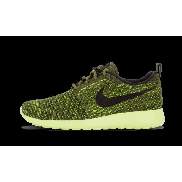 Nike Femme Roshe One Flyknit Chaussures 704927 301...