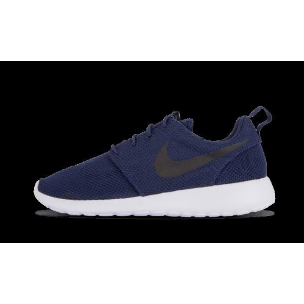 Nike Roshe Run Midnight Marine/Noir/Blanche 511881...