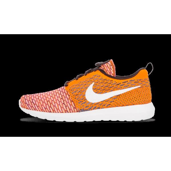 Nike Flyknit Rosherun Blanche Chaussures 677243-10...