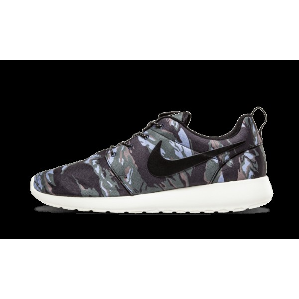 Nike Roshe Run Camo Noir Voile Mercury Gris Gpx 55...