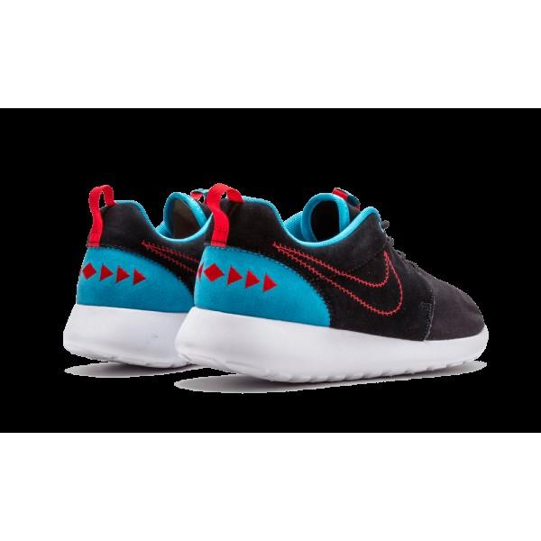Nike Roshe Run One N7 Noir Turquoise Rouge 746654-004 Rosherun Running