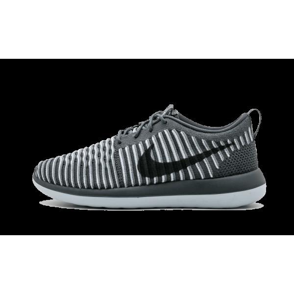 Nike Roshe Two Flyknit 2 Gris foncé Chaussures de...