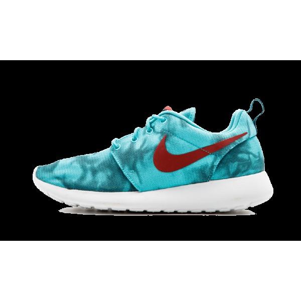 655206-346 Homme Nike Roshe Run Print Hyper Jade/C...