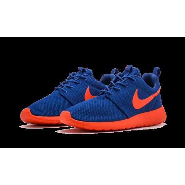 Nike Roshe Run Ny Knicks Bleu/Orange 511881-483 Homme