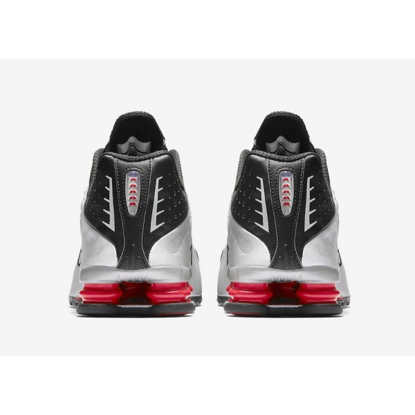 Nike Shox R4 OG Black/Metallic Silver Shoes BV1111-008