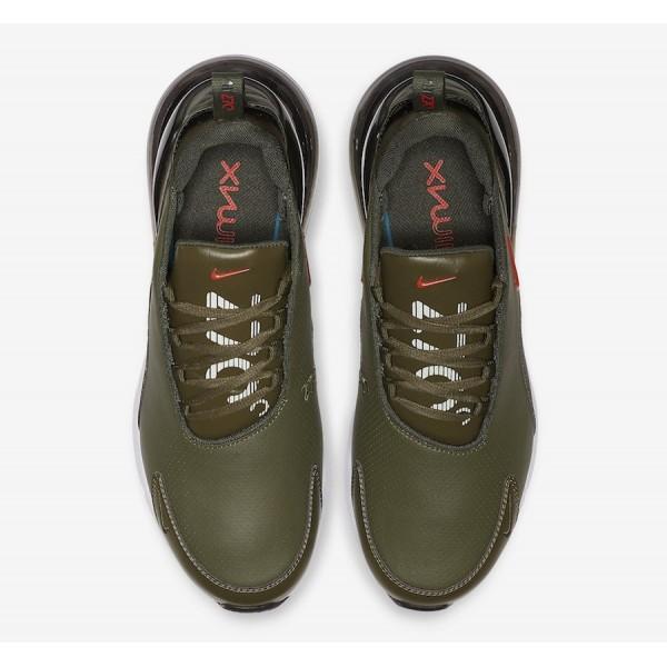 Nike Air Max 270 Premium Olive/Orange Shoes BQ6171-200