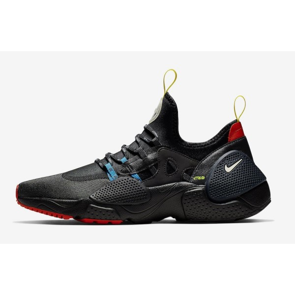 Heron Preston x Nike Huarache E.D.G.E. Black Shoes...