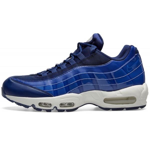 Nike WMNS Air Max 95 Blue Void/White Shoes 918413-...