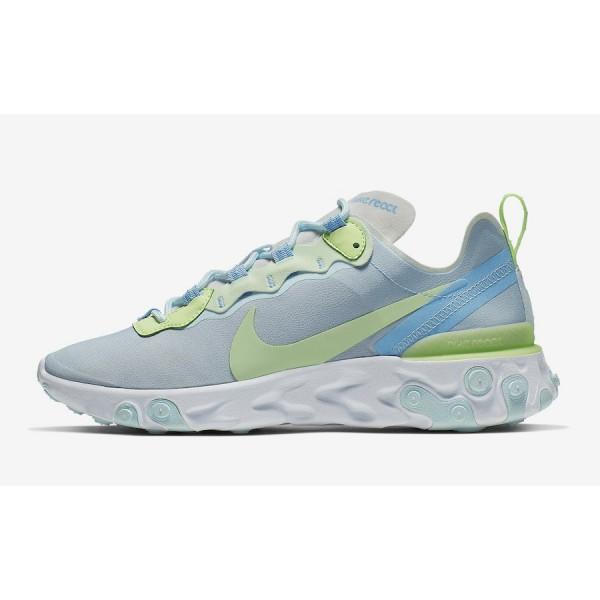 Nike React Element 55 Blue Shoes BQ2728-100