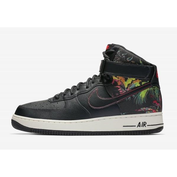 Nike Air Force 1 High Black/Multi Shoes CI2304-001
