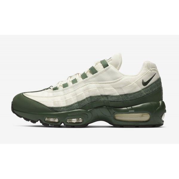 Nike Air Max 95 Beige/Dark Green Shoes BV9205-300