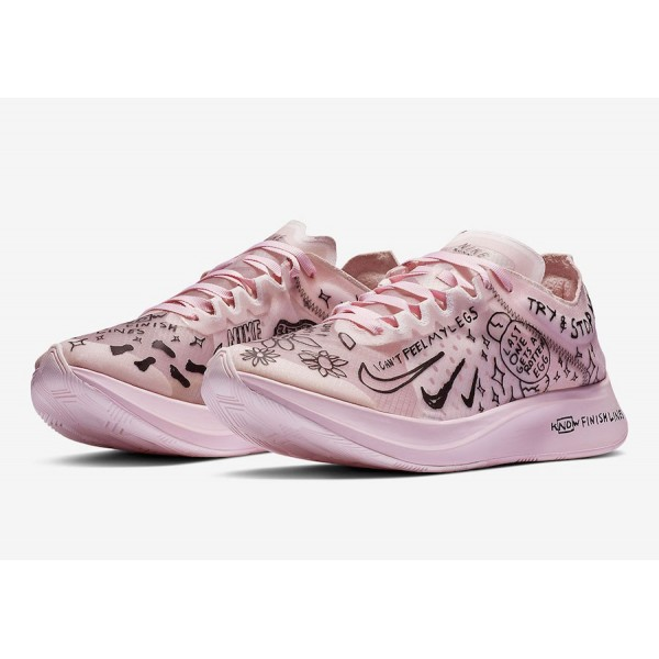 Nathan Bell x Nike Zoom Fly SP Pink Shoes AT5242-100