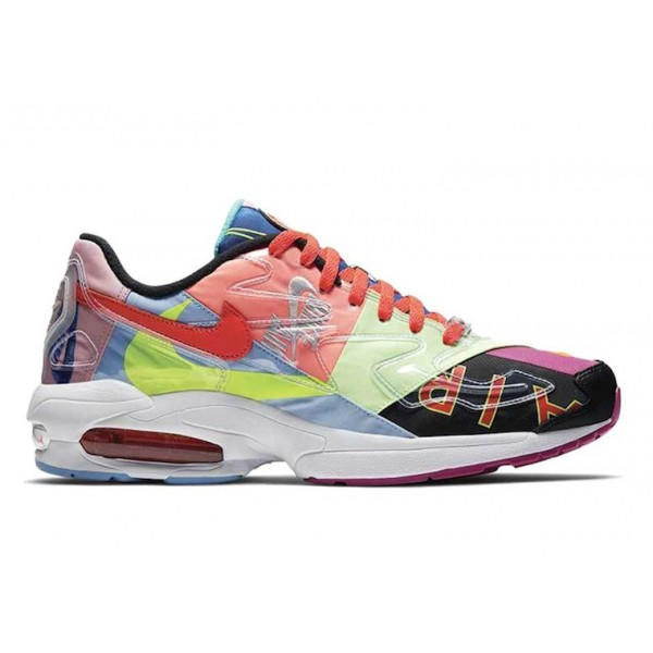 atmos x Nike Air Max2 Light Multicolor Shoes BV740...