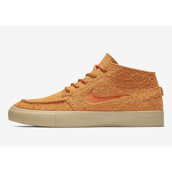 Nike SB Stefan Janoski Mid Crafted Brown Shoes AQ7...