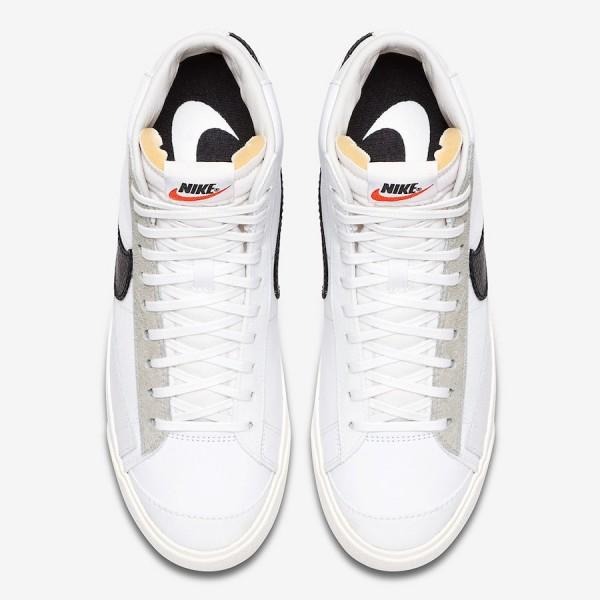 "Slam Jam x Nike Blazer Mid ""Class 1977"" White Shoes CD8233-100"