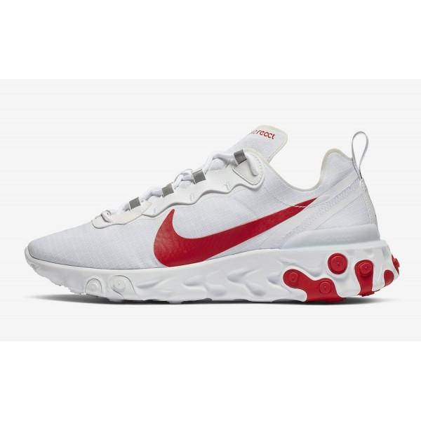 Nike React Element 55 White Shoes BQ6167-102