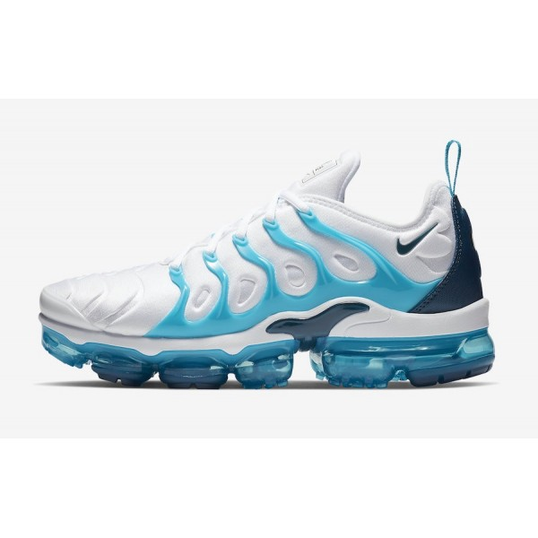 Nike Air VaporMax Plus White Blue Shoes 924453-104