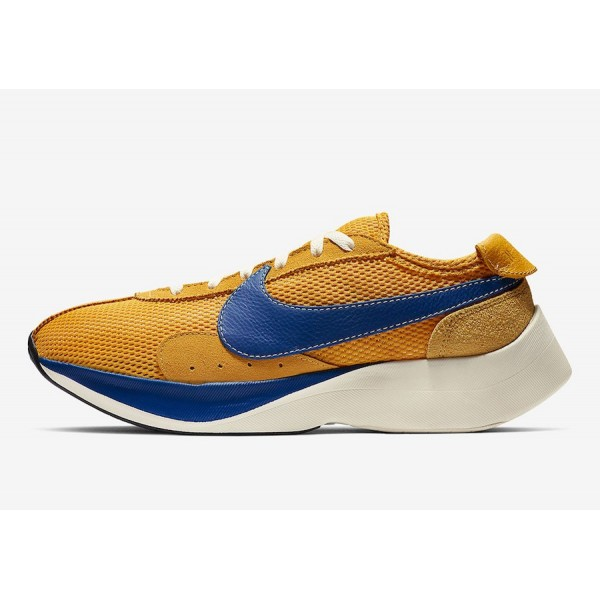 Nike Moon Racer Yellow/Blue Shoes BV7779-700