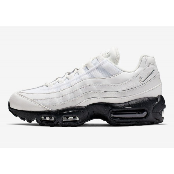 Nike Air Max 95 Summit White/Summit White-Black Sh...