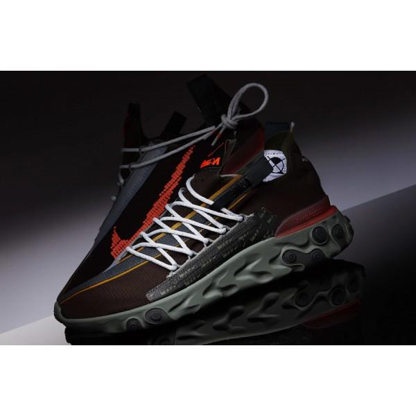 Nike React WR ISPA Velvet Brown/Terra Orange Shoes...