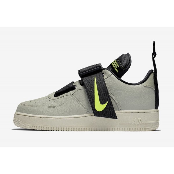Nike Air Force 1 Low Utility Spruce Frog Noir Volt...
