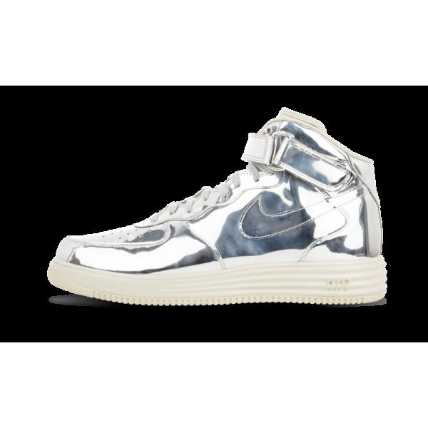 Nike Lunar Force 1 Mid SP Liquid Metal Métallique...