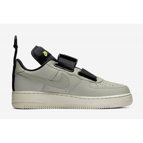 Nike Air Force 1 Low Utility Spruce Frog Noir Volt Chaussures Homme AO1531-301