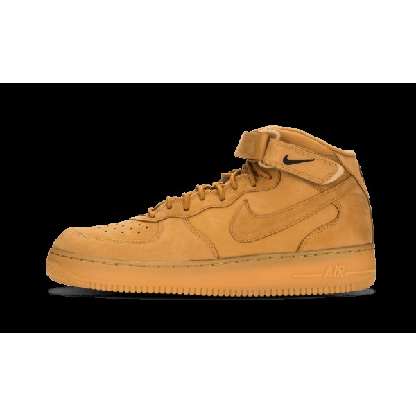 Nike Air Force 1 Mid 07 PRM QS Flax/Outdoor Vert 7...