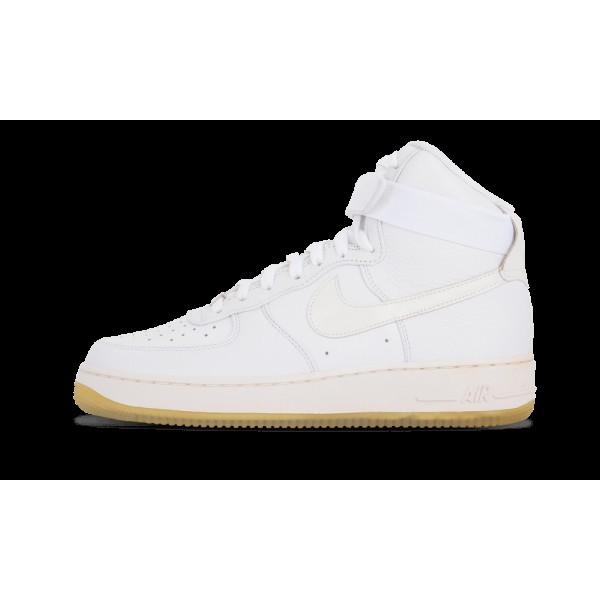 Nike Air Force 1 Hi Comfort Premium QS Blanche 573...