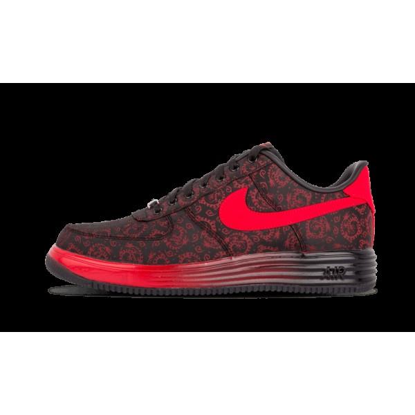 Nike Lunar Force 1 City QS Université Rouge/Noir ...