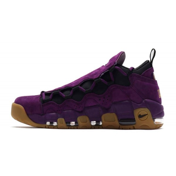 Nike Air More Money Night Pourpre Metallic Gold Ch...