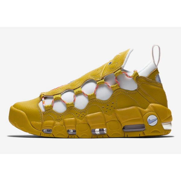 "Nike Air More Money ""Meant to Fly"" Gold ..."
