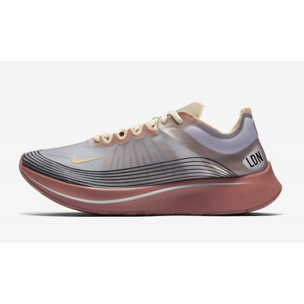 """Nike Zoom Fly SP """"London"""" Wolf Gris Dese..."""