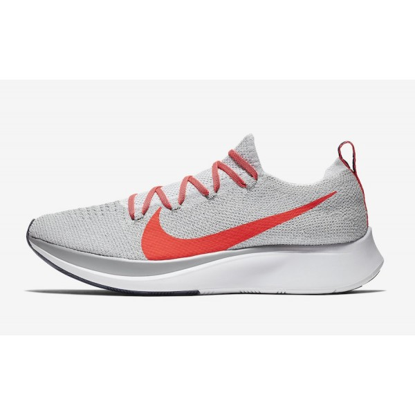 Nike Zoom Fly Flyknit Bright Crimson Chaussures Ho...
