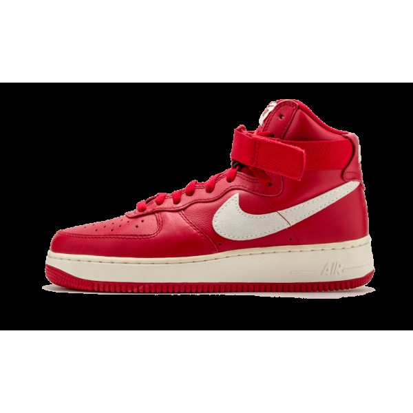 Nike Air Force 1 HI Retro QS Gym Rouge/Summit Blan...