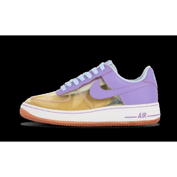Nike Femme Air Force 1 Premium Clear/Iris Clair/Ic...