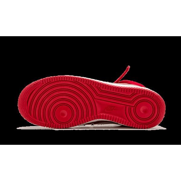 Nike Air Force 1 HI Retro QS Gym Rouge/Summit Blanche 743546-600
