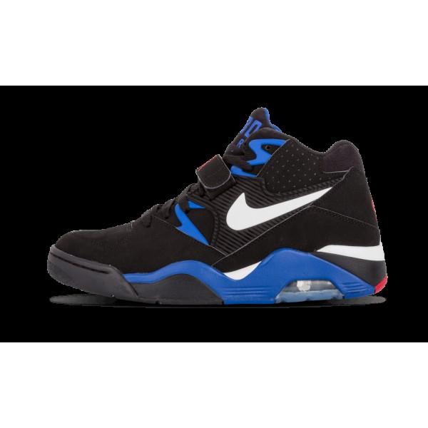 310095-011 Homme Nike Air Force 180 Chaussure Noir...