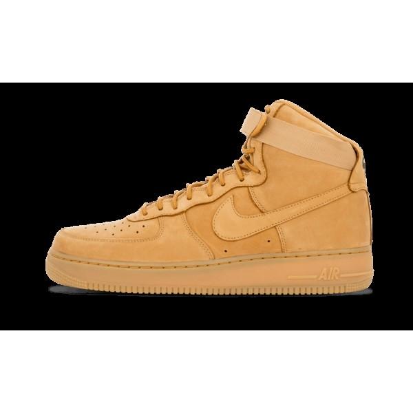 806403-200 Nike Air Force 1 High 07 Lv8 Homme Flax...