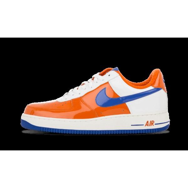 Nike Air Force I 1 Premium Hoop Orange/Royal World...