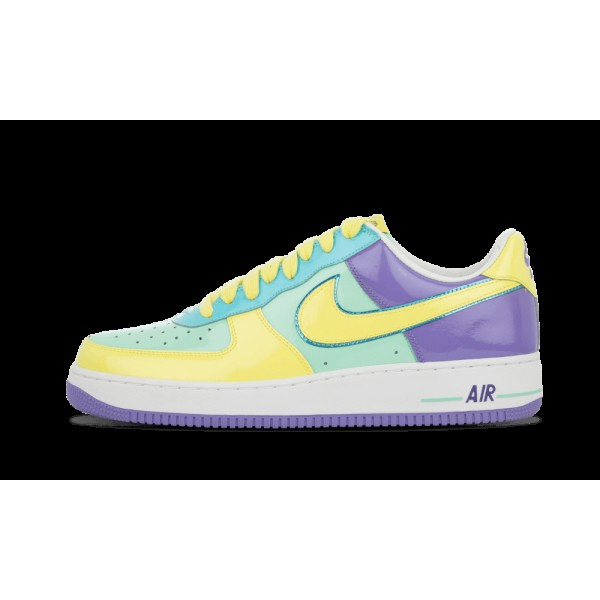 Nike Air Force 1 Premium Easter Egg Mint Lemon Fro...