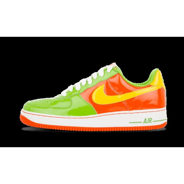 312945-372 Nike Air Force 1 Premium Vert Bean/Vars...