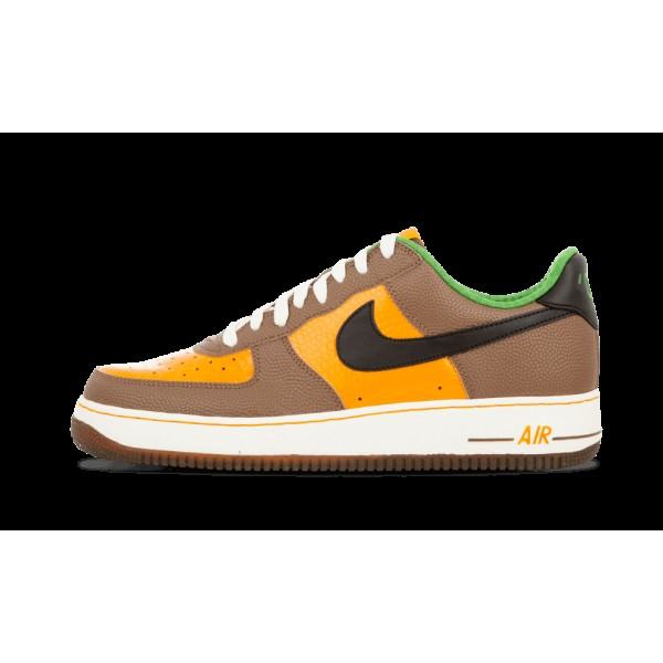 Nike Air Force 1 Premium Shock Orange/Noir/Bison 3...