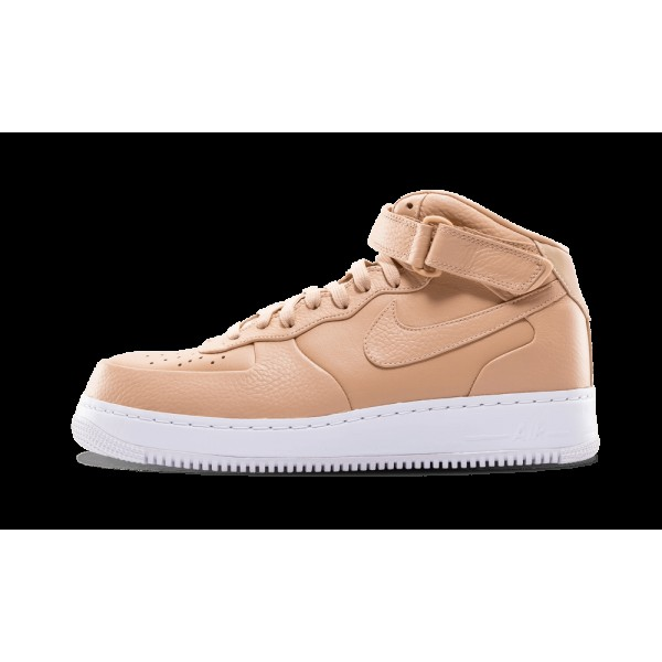 Nike Air Force 1 Mid Vachetta Tan Premium Leather ...