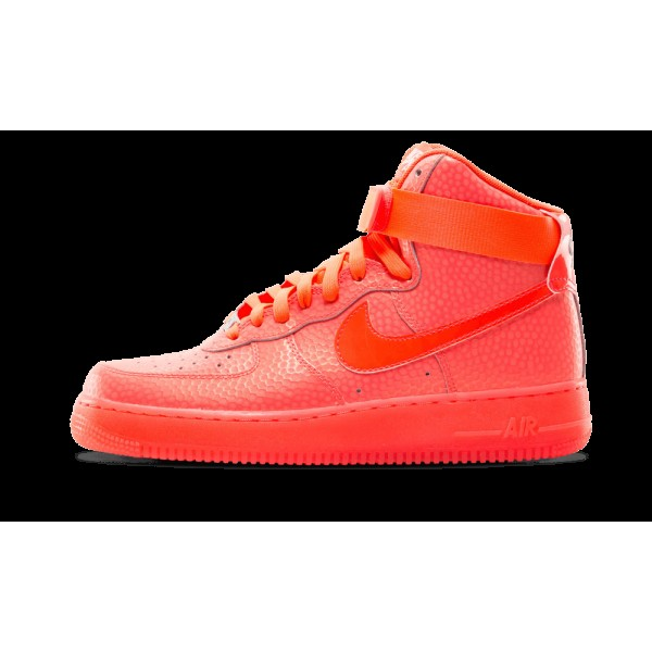 Nike Femme Air Force 1 Hi High Premium 654440 800 ...