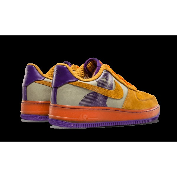 Nike Air Force 1 PRM '07 (AMARE) Stucco Foncé/Miners Or/Court Pourpre 315182-071
